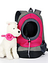 Cat Dog Carrier & Travel Backpack Pet Baskets Solid Portable Breathable Yellow Ruby Green Blue Blushing Pink