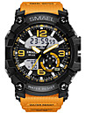 Men's Sport Watch Fashion Watch Digital Watch Wrist watch Digital LED Water Resistant / Water Proof Dual Time Zones Alarm Rubber Band