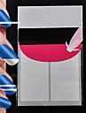 240pcs профессиональный решений модели Nail Art Tool (5x48pcs) # 13