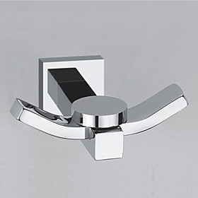 Robe Hook Contemporary Wall Mounted Brass 64858