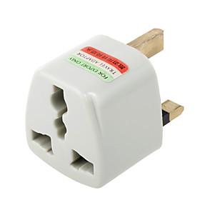 Universal US EU AU to UK Ac Power Plug Adapter Travel Converter(CEG404) 75171