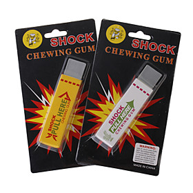 Shock-Your-Friend Eletrostatic Chewing Gums (Assorted 2-Pack) 75699
