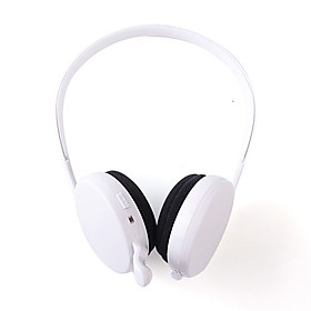 Wireless Bluetooth Headphoed Bluetooth Headset with Microphone for iPhone iPad (10m/33ft)