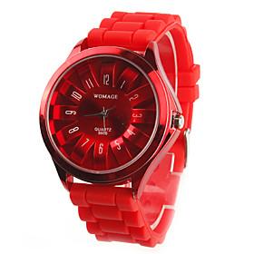 Reloj Pulsera Quartz Crisantemo Met?co Unisex - Rojo