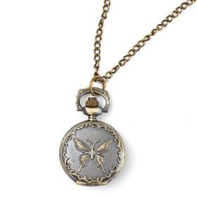 mariposa reloj de bolsillo