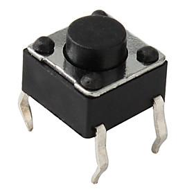 4-Pin-Taktschalter (100 Stück pro Packung, 6x6x5mm) 314862