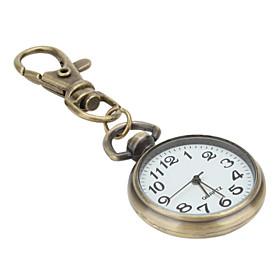 aleaci?nisex de cuarzo llavero reloj (bronce)