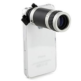 optische 8-fach Zoom Teleskop-Kamera-Objektiv mit manueller Fokus hart zurück Fall für Apple iPhone 4 4s 279118