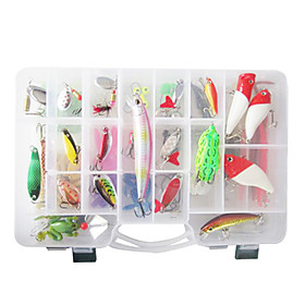 Metal Baits/Soft Baits 120 Pcs Lure Packs 355712