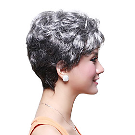 Capless Short High Quality Synthetic Wavy Hair Wig 369960