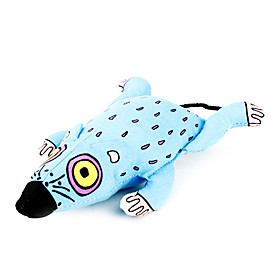 Cat Toy Pet Toys Catnip Mouse Blue Textile 402685