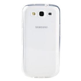 Custodia morbida trasparente in TPU per Samsung Galaxy S3 I9300