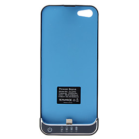 High Quality Backup Power Case for iPhone 5 (Black, 2200 mAh)