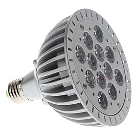 1200 lm E26 / E27 Growing Light Bulb PAR38 12 LED Beads High Power LED Purple 85-265 V