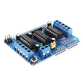 L293D Motor Driver Expansion Board Motor Control Shield (Blue) 506241