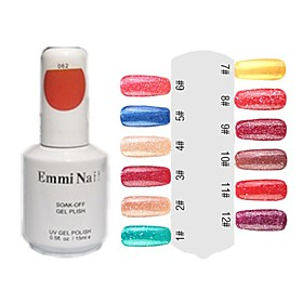 UV Gel de color Venta caliente Nail Art Nail Polish (15 ml, 1 botella) 480697