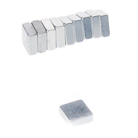 Magnet Toys 10Pcs 552mm Magnet Toys / Super Strong Rare-Earth Magnets / Neodymium Magnet Executive Toys Puzzle Cube DIY ToysMagnetic 526320