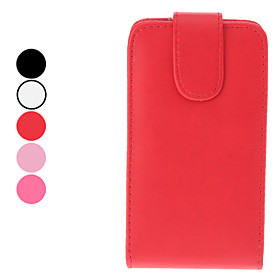 High Quality PU Leather Case for Samsung Galaxy S2 I9100 (Assorted Colors)