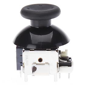 Udskiftning 3D Rocker Joystick Cap Shell Mushroom Caps for XBOX360 Wireless Controller (Black) 570296