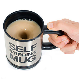 Self Stirring Mug for Tea Coffee Soup (2xAAA)
