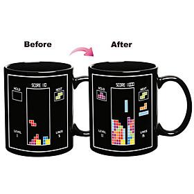 Magic Color Changing Toy Bricks Pattern Ceramic Cup Mug 545524