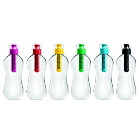 Activated Carbon Filtering 400/580ml Water Bottle (Random Color)