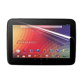 PET Material Tablet Screen Protector for Google NEXUS 10 (Highly Transparent Membrane)
