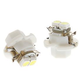 B8.4 0.5W 2x3528SMD белый свет Светодиодные лампы для автомобилей лампы Инструмент (12 В постоянного тока, 1 пара)