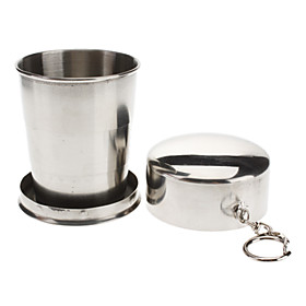 Retractable Stainless Steel Cup Portable Kettle(Large) 601006