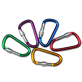 Carabiners Durable Climbing / Outdoor Aluminium Alloy cm 1/5 pcs pcs