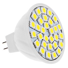 5W GU5.3(MR16) LED Spotlight 30 SMD 5050 420 lm Warm White / Cool White DC 12 V 2679457