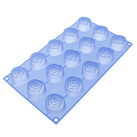 Rose Shaped Silicone Cake Biscuit Mould 623819