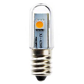 0.5W 50-100lm E14 LED Corn Lights T 3 LED Beads SMD 5050 Warm White 220-240V