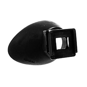 Universal Ear Shape Eye Cup Eyepiece for All Kinds of Camera Devices Canon Nikon Sony Olympus Pentax 622801