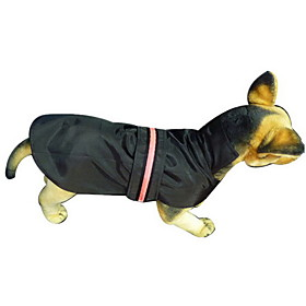 Washable Waterproof Vest with Hoodie LED Light for Dogs (Assorted Colors, S-XXXL)