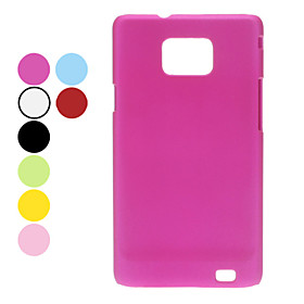 Dull Polish Hard Case for Samsung Galaxy S2 I9100 (Assorted Colors)