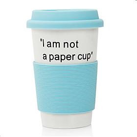 """381ML """"""""Ich bin kein Paper Cup"""""""" Ceramic-Becher (blau)"""" 646121"""