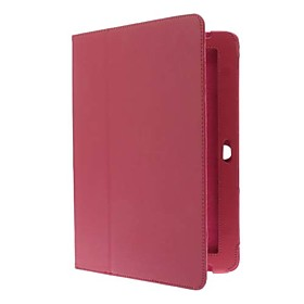 Image of 10.1 Inch Solid Color Litchi Pattern Full Body Case with Stylus and Screen Protector(Assorted Colors)