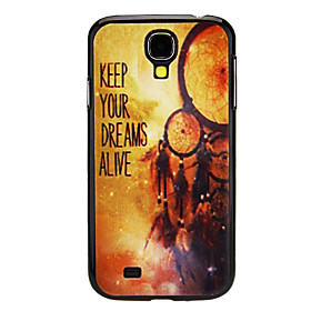 KEEP YOUR DREAMS ALIVE Pattern Hard Case for Samsung Galaxy S4 I9500 3204