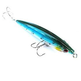 Trulinoya-Hard Mini Bait Minnow 110mm/13g/2m Fishing Lure(Random Color) 695901