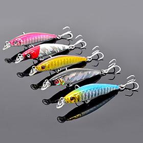 Trulinoya-Hard Mini Bait Small Minnow 55mm/2.5g/0.5m Fishing Lure 695935