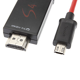 MHL to HDMI Adapter Cable for Samsung Galaxy S3 I9300,S4 i9500 and Note 2 N7100