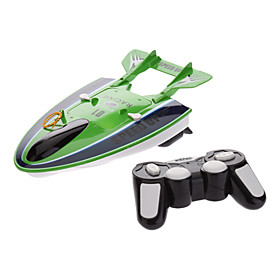 Excellent C205 Flying Championship 4-Channel Rechargeable Wireless Remote Control Airship Boat Toy (Green,Yellow)