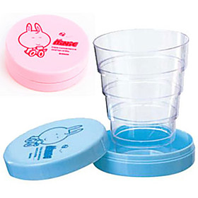 Cute Cartoon Portable Collapsible Telescopic Cup Folding Travel Baby Drinking Mug Birthday Gift 695859