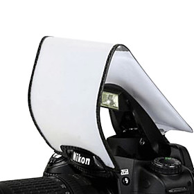 Pixco pop-up Camera Flash Diffuser for Canon 60D 600D 7D 5D II Nikon D7000 D3100 D5100