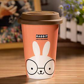 Karikatur-Kaninchen-Becher mit Flexible Kleber Abdeckung Cup 745946