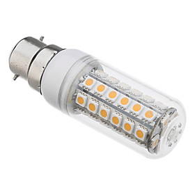 B22 8W 48x5050SMD 650LM 3000K Warm White Light LED Mais-Birne (220V) 762707