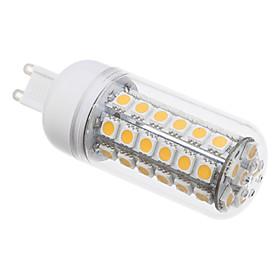 G9 8W 48x5050SMD 650LM 3000K Warm White Light LED Mais-Birne (220V) 762697
