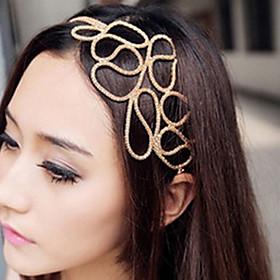 Women's Elegant Fabric / Alloy Headband Flower / Headbands / Hair Jewelry / Headbands