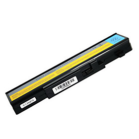 5200mah Replacement Laptop Battery for Lenovo Y450 Y450A Y550 L08O6D 6cell - Black